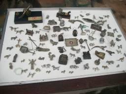 Coleção de 92 peças miniaturas antigas