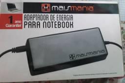 Adaptador de energia para notebook mais mania