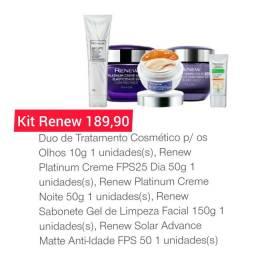 Kit Renew Avon pedido até dia 10