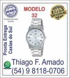 Relógio Casio modelo MTP-V001D-7B - Mod. 32 - 100% Original
