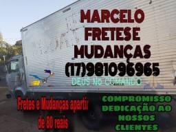 Caminhão para Mudança partir 80 reais
