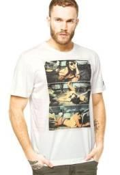 Oportunidade, 4 camisetas originais, volcom, reef, rvca. Entrego