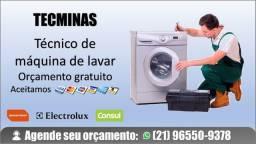 Técnico de máquina de lavar