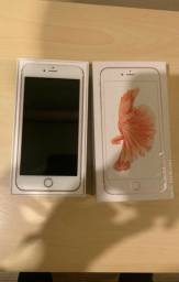 Raridade @@@ iPhone 6s Plus Rosa 16 gb - Seminovo