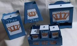 Kit Higiene do Bebe 7 peças