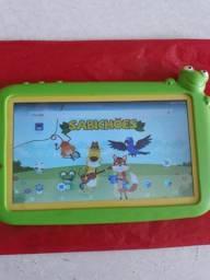 Tablet DL sabichões Educativos c Bluetooth e Capinha emborrachada