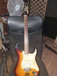 guitarra tagima com captadores samck