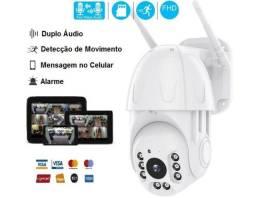 Câmera IP Externa Wifi, Prova D'água Spd, Android, Iphone Wi-fi