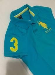 Camisa feminina Polo Play, tamanho M