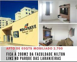 Pq das Laranjeiras 03qts MOBILIADO