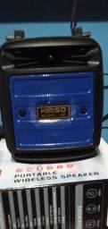 Caixinha de som via Bluetooth $85 Nova