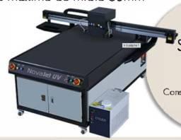 Impressora UV Akad Novajet Tamanho de 1,6x1,0m