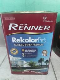 Tinta acrílica Renner super Premium branca