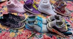 Tênis diversas marcas originais! Nike Rebook Adidas! Barato*