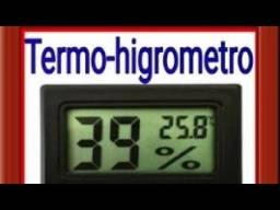 Termostato Digital temperatura e umidade