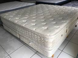 Cama KING SIZE TOP 2.03 x 1.93m - ENTREGAMOS