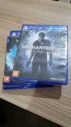 Jogos PS4:  Uncharted 4 - Horizon Zero Dawn - TitanFall 2