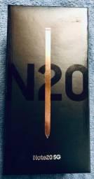 Samsung Galaxy note20 256gb novo com NF