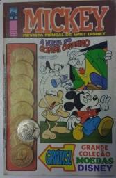 Gibis Disney - Com Brindes - Moedas Disney