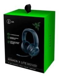 Título do anúncio: HeadSet Gamer Razer Kraken X Lite Essential - Pc/ps4/xbox Novo - Pronta Entrega