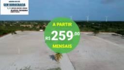 Título do anúncio: Lotes EcoLive em Aquiraz à 5 min da praia do Presídio!