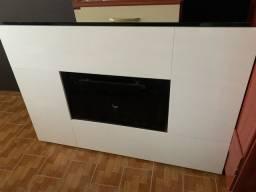 Painel TV Branco de parede