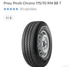 Título do anúncio: 1 pneu zero Pirelli Chrono