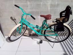 Vende-se está bicicleta com a caderinha.