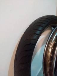 Aro/pneu Bros 150/125