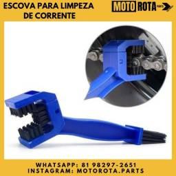 Escova para limpeza de corrente (Moto-bike)