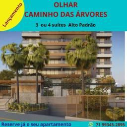 Lançamento na Pituba : Olhar Residencial, 3 suítes , 130 m²,  na Alameda Catabas