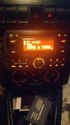 Rádio original Renault. USB, bluetooth, MP3.  bem conservado. Funcionando perfeitamente