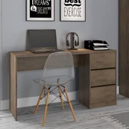 mesa para computador c/ 3 gavetas