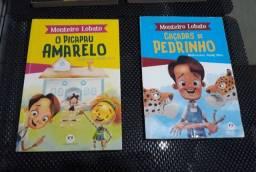 Lote de livros infanto-juvenis