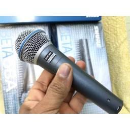 Título do anúncio: Microfone shure beta 58a made in México