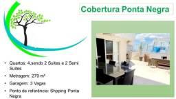Título do anúncio: Cobertura Ponta Negra