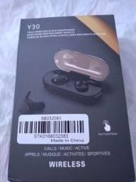 Fone de Ouvido Intra-Auricular Wireless