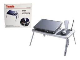 Suporte Notebook Mesa Para Notebook Com Cooler Sala Cama