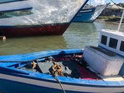 Título do anúncio: Barco de pesca com licença para pesca atualizada