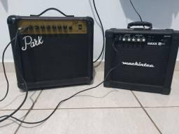 Título do anúncio: Amplificador Park G10R e Mackintec MAXX 15 color