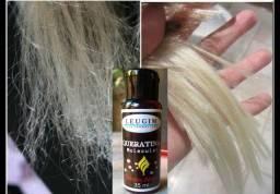 Título do anúncio: Queratina e Cistina molécula siliconada TRAT Hair 30 Ml
