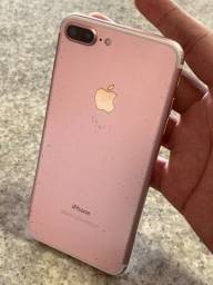 iPhone 7 Plus 32GB Rosa Na Caixa 32 GB