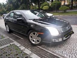 Ford Fusion 2007 Sel Blindado preto(lindo!)aut+completo+revisado+novissimo!!!