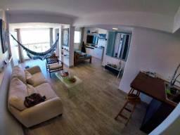 Lindo Apartamento próximo da Orla de Atalaia com 1 Suíte, sala equipada e varanda vista ma