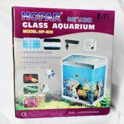 Aquário hopar glass aquarium model : hp _400
