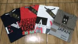Camiseta Armani Nova (Tamanho M e G)