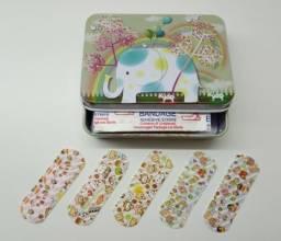 Curativo Infantil Bandagem Divertido Band Aid 100 Unidades