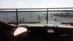 Apartamento mobiliado com 1 suíte e vista mar