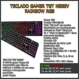 Teclado Gamer TGT Negev Rainbow RGB