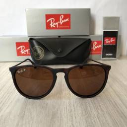 Óculos Ray ban RB4171 marrom polarizado novo comprar usado  Santa Luzia